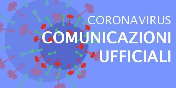 Comunicazioni scuola emergenza Covid-19
